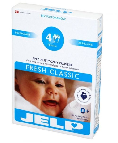 Jelp proszek fresh classic saszetka 4 prania 320g