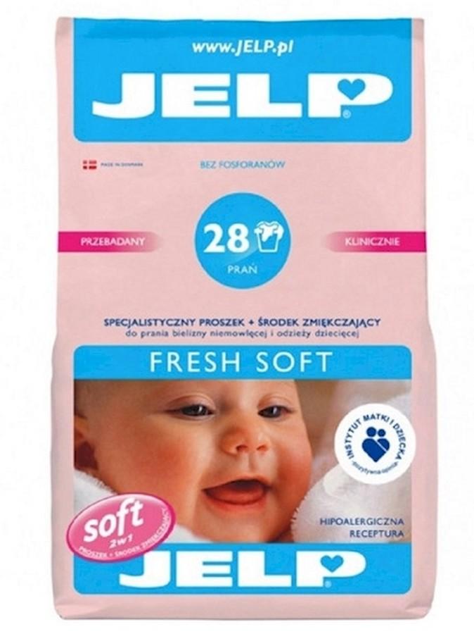 Jelp 28 prań proszek fresh soft 2,24 kg