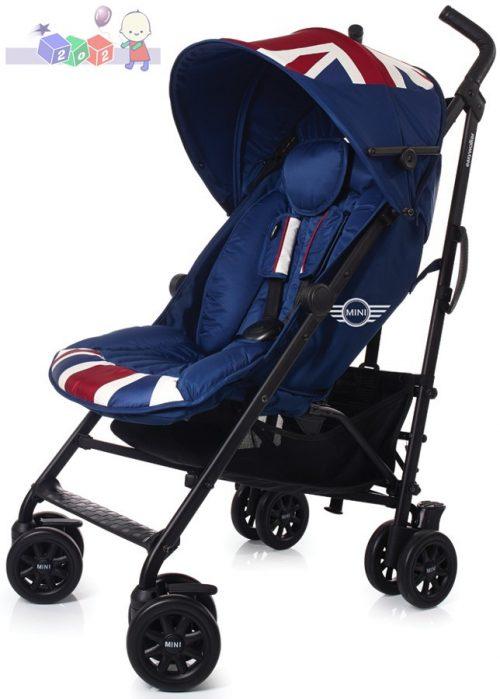 Wózek parasolka Mini Easywalker z fotelikiem samochodowym