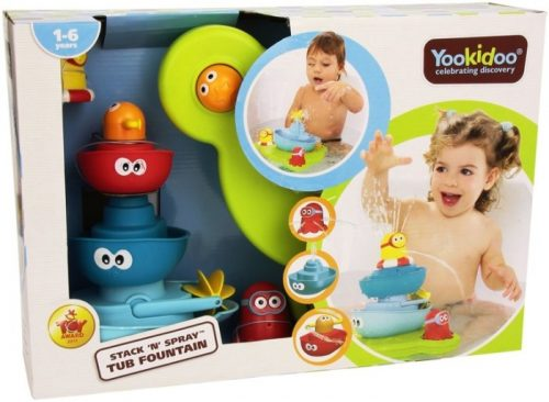 Yookidoo Fontanna z łódeczkami - zabawki do kąpieli