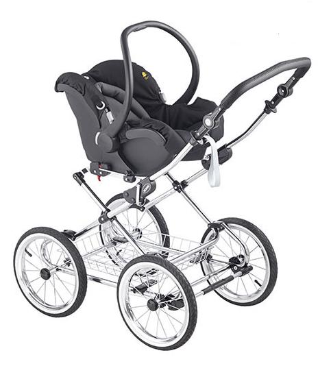 3w1 Wózek głęboko spacerowy klasyczny Sofia Roan rama chromowana + fotelik samochodowy Millo0-13 kg