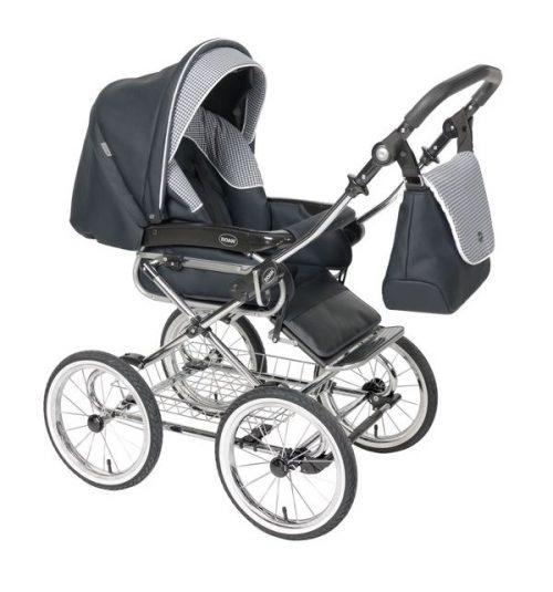 3w1 Wózek głęboko spacerowy Emma firmy Roan chrom+ fotelik samochodowy 0-13 kg Millo
