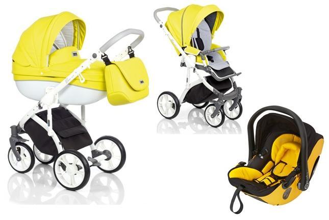 3W1 Wózek Roan Bass Soft, wersja głęboka oraz spacerowa + bezpieczny fotelik samochodowy 0-13 kg Maxi Cosi, Besafe, Cybex, Concord