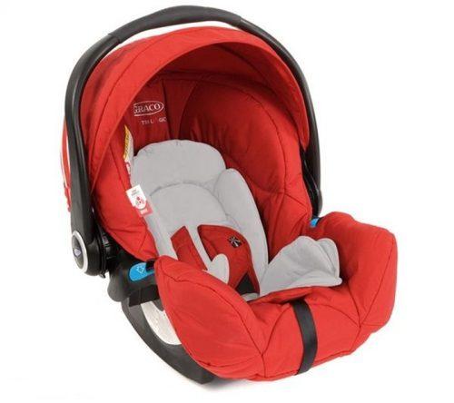 Bardzo bezpieczny fotelik samochodowy Graco Logico S HP 0-13 kg
