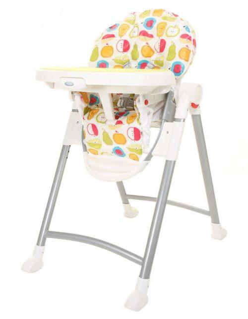 Plastikowe krzesełko do karmienia Contempo Graco