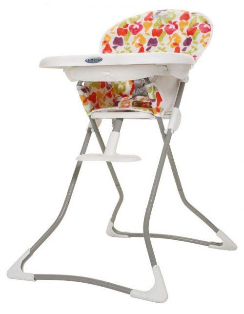 Wyjątkowo lekkie i przenośne krzesełko do karmienia Tea Time Graco