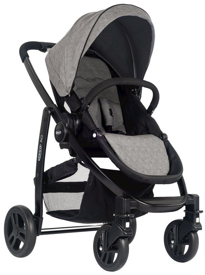 Praktyczny i funkcjonalny wózek spacerowy Evo Graco + Śpiworek i folia