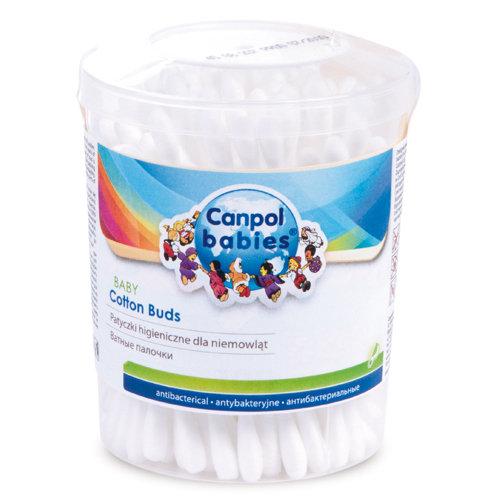 Patyczki higieniczne 100% bawełny 100 szt. Canpol Babies