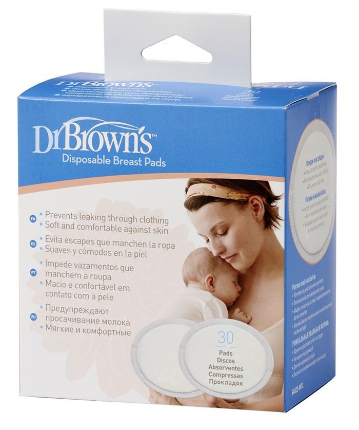 *Jednorazowe chłonne wkładki laktacyjne Dr Browns 30 szt.