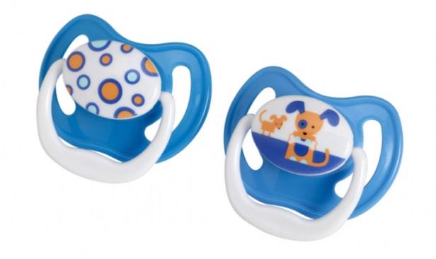 Dr Browns smoczek prevent classic 6-12 miesięcy 2 pak kolorystyka dla chłopca