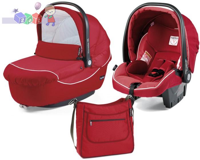 Wózek 3w1 stelaż Book 51 + siedzisko + gondola Navetta XL, Elite, Pop-Up + fotelik samochodowy 0-13 + torba pielęgnacyjna szerokosc wózka 51 cm, Peg Perego