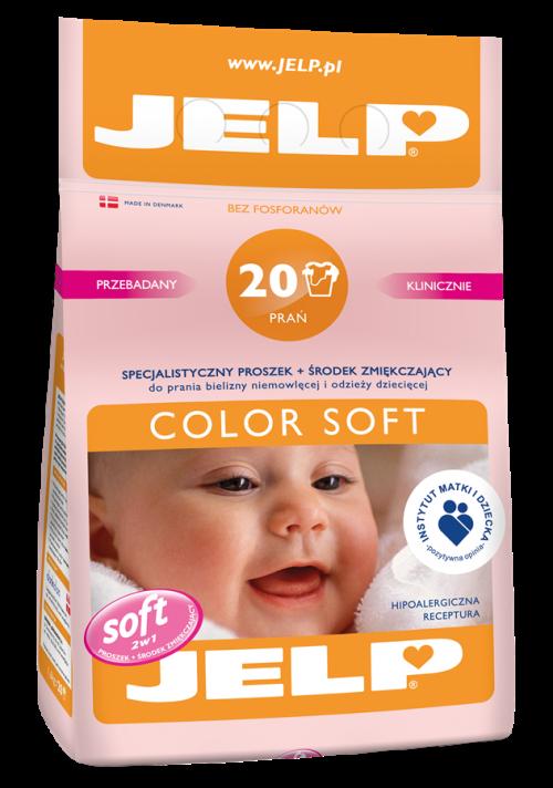 Jelp 20 prań proszek color soft 1,6 kg