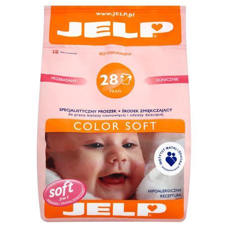 Jelp 28 prań proszek color soft 2,24 kg