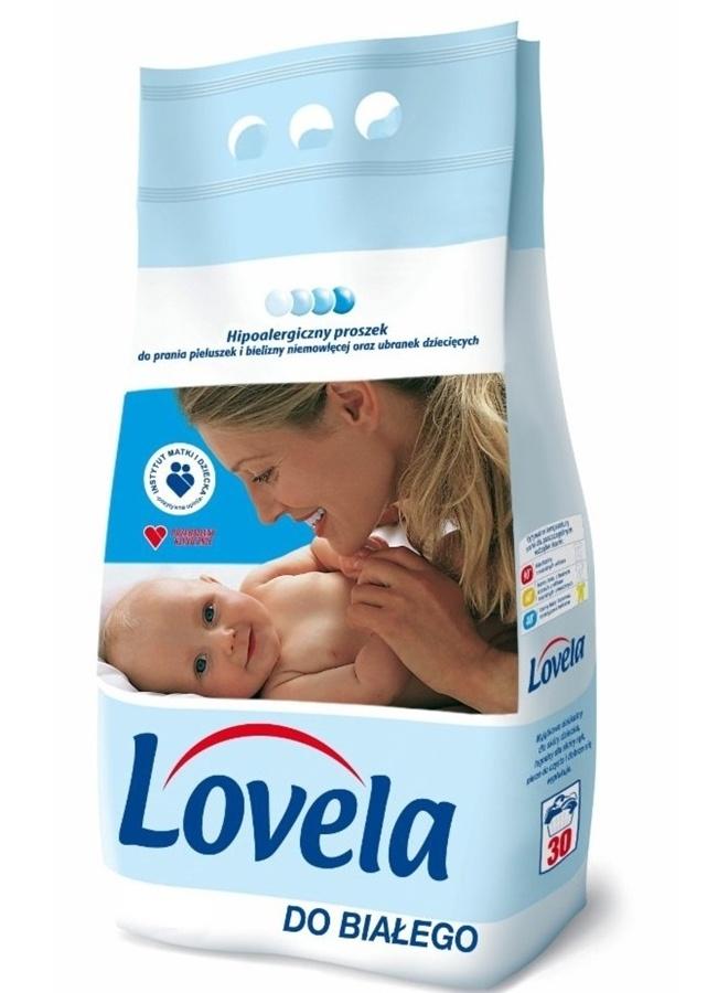 Hipoalergiczny proszek do prania do białego Lovela 3,6 kg