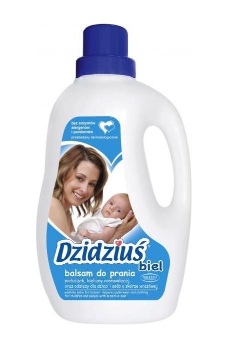 Balsam do prania białego dzidziuś 1,5 litra