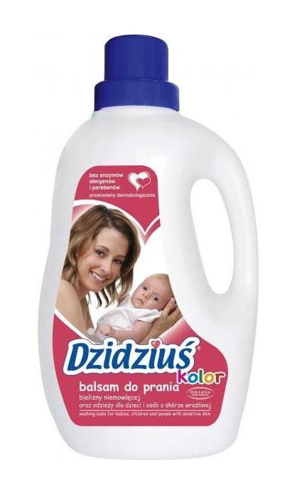 Balam do prania kolorowego Dzidziuś 1,5 litra economy