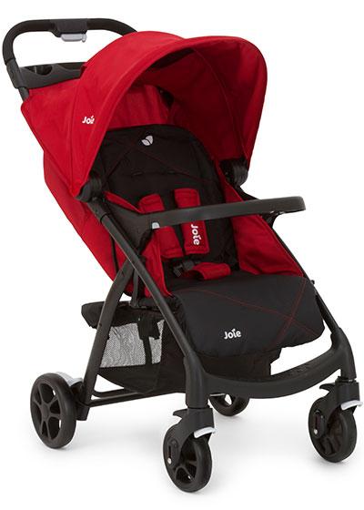 Wózek spacerowy Muze tacka dla dziecka i rodzica Joie