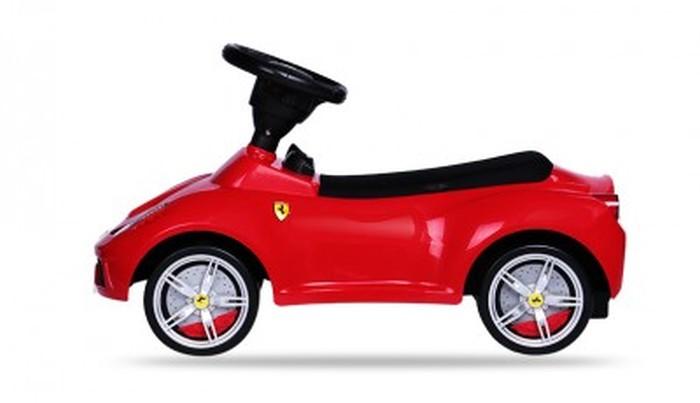 Pchacz jeździk dla dzieci Ferrari 458 czerowne