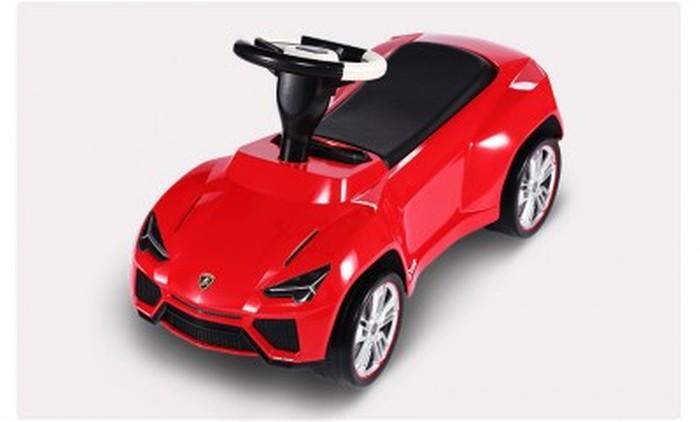 Lamborghini Ursus pchacz jeżdzik dla dzieci kolor czerowny