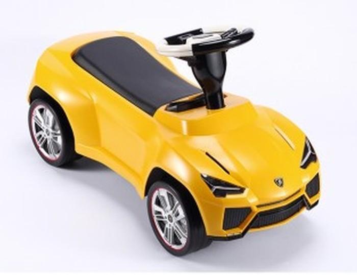 Lamborghini Ursus jeżdzik dla dzieci w kolorze żółtym