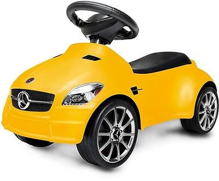 Rastar pchacz jeżdzik Mercedes slk 55 amg yellow