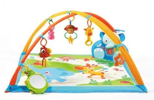 Mata edukacyjna z pałąkami muzycznymi przyjaciele Tiny Lovei