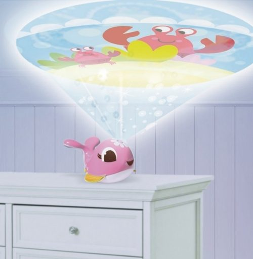 Tiny Love projektor podróżny Wieloryb Suzi różowy