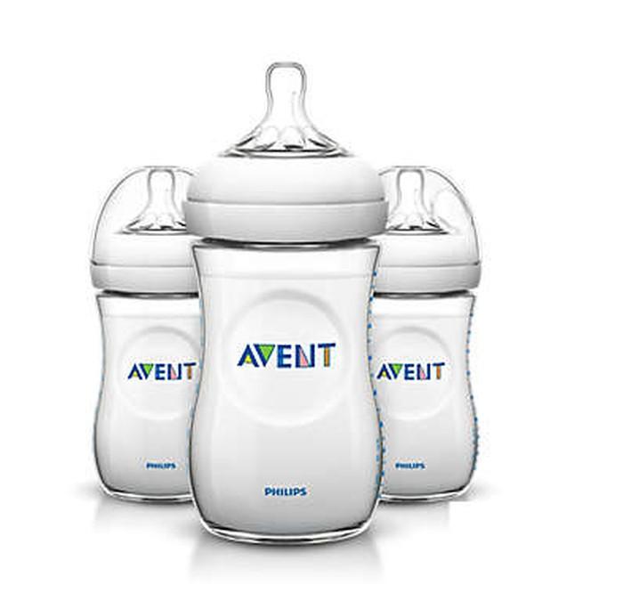 Avent Butelki Natural 260 ml 3 szt.