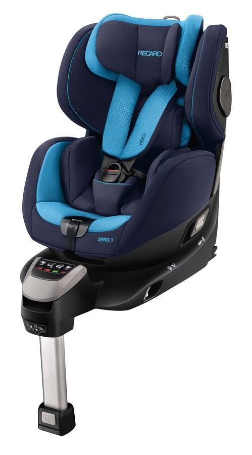Obrotowy fotelik samochodowy Recaro Zero.1 od 0 do 18 kg - obracany o 360 stopni norma I-size