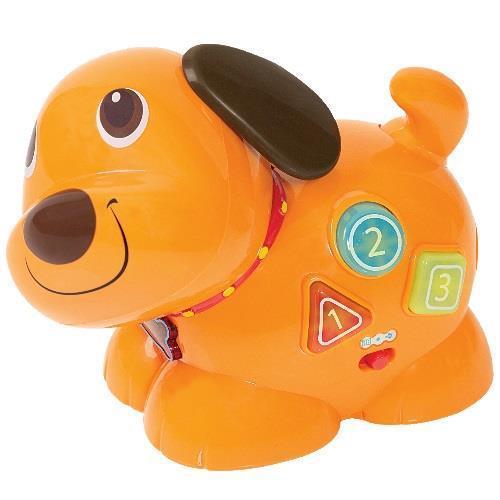 Smily Play zabawka  biegający piesek łatek