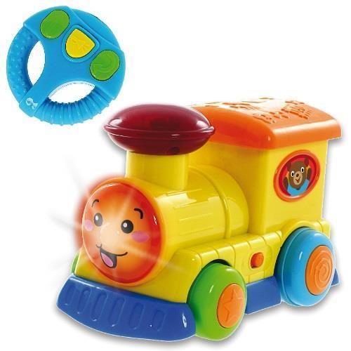 Smily Play zabawka  pojazdy sterowane z kierownicą - lokomotywa