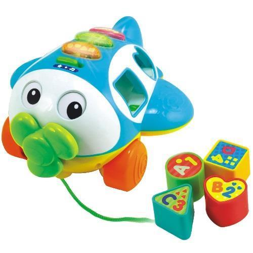 Smily Play zabawka  samolot śmiałek abc