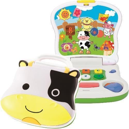 Smily Play zabawka  mój pierwszy laptop krówka