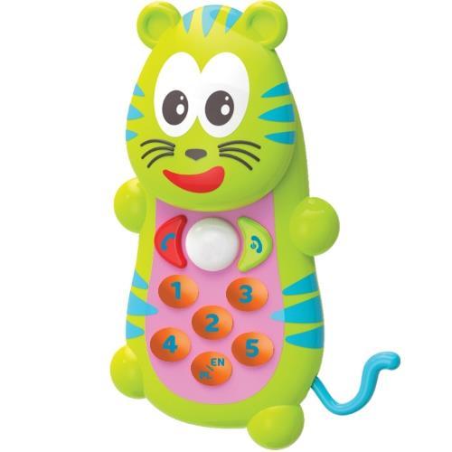 Smily Play zabawka  telefoniczny tygrys