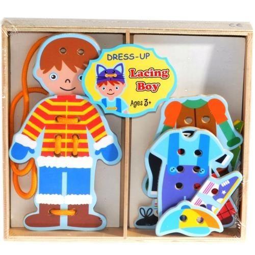 Smily Play zabawka  układanka drewniana