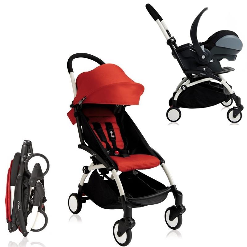 Wózek spacerowy YOYO + BABY ZEN + fotelik samochodowy z testami ADAC