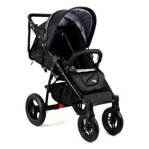 Wózek spacerowy Quad X Valco baby na pompowanych kołach z opcją montażu fotelika i gondoli
