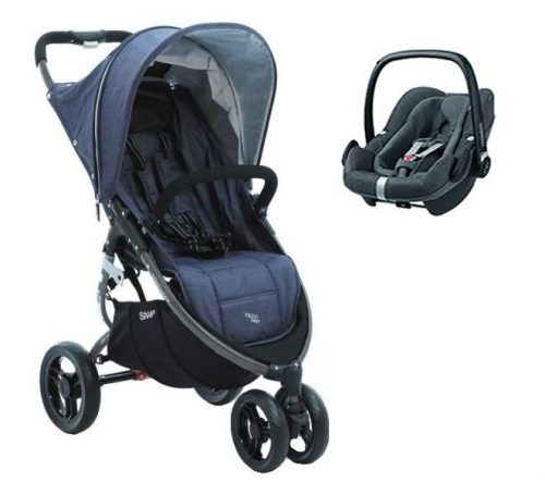 Super lekki wózek spacerowy 6,6 kg Limited Edition Snap Tailor Made Valco Baby + fotelik 0-13 kg