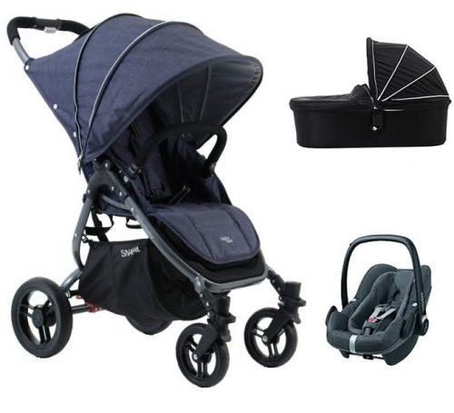 3w1 ultralekki wózek spacerowy 6,6 kg + gondoa Snap 4 Valco Baby + fotelik 0-13
