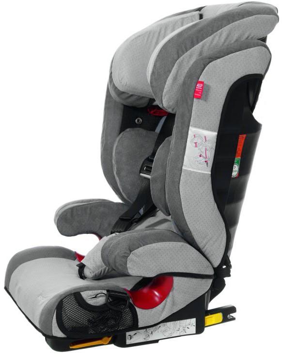 Rehabilitacyjny fotelik samochodowy dla dzieci niepełnosprawnych Recaro Monza Nova Seatfix 2 REHA by Thomashilfen 15-50 kg