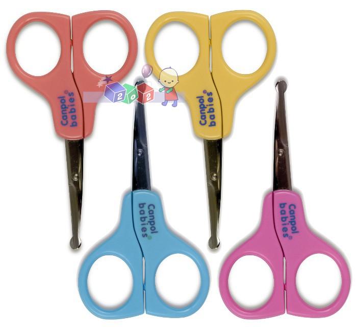 Bezpieczne nożyczki o zaokrąglonych krawędziach Canpol Babies