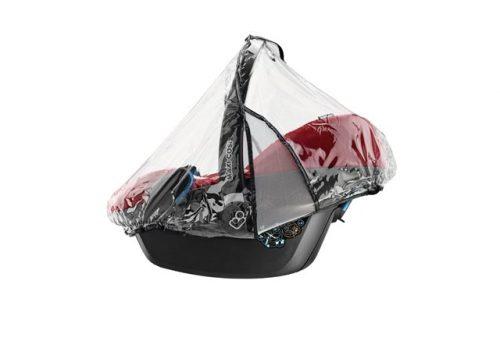 Folia przeciwdeszczowa do fotelików 0-13 kg Maxi Cosi City, Cabrio fix i Pebble
