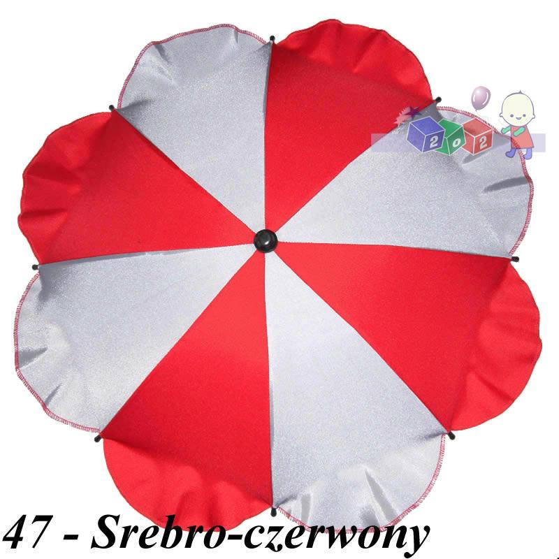 Przeciwsłoneczna parasolka do wózka z dużym uchwytem