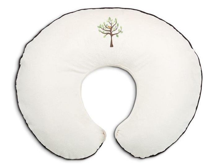 Poduszka do karmienia i zabawy Boppy welur – bawełna Cream Life Tree, Chicco