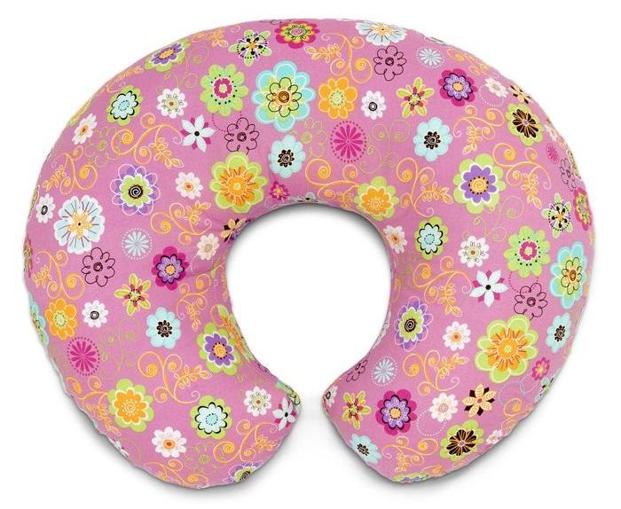 Poduszka do  karmienia, rozwoju oraz zabawy Boppy Wild Flowers, Chicco