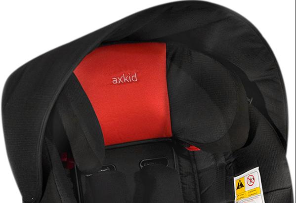 Daszek przeciwsłoneczny do fotelików firmy Axkid Minikid, Rekid, Kidzone, Duofix