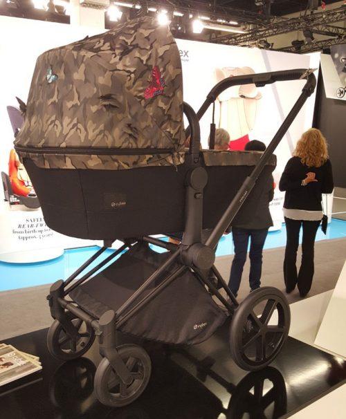 Gondola do wózka Priam kolekcja Butterflay Cybex