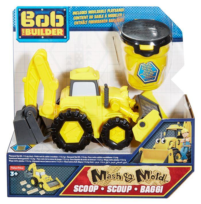 Bob Budowniczy Pojazdy z  kinetycznym piaskiem - Fisher Price DGY43