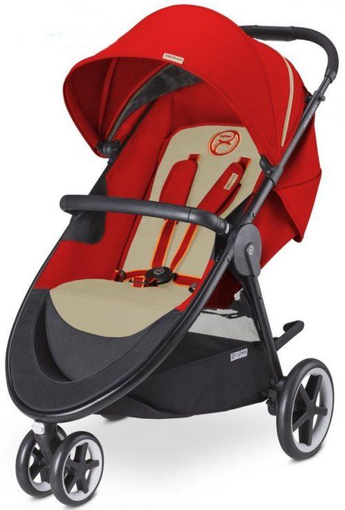 Głęboko spacerowy wózek dziecięcy Cybex Agis M-Air3 - wersja 3-kołowa