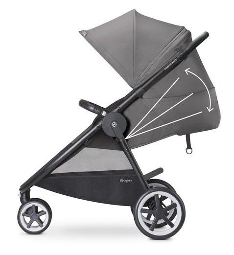 Głęboko spacerowy wózek dziecięcy Cybex Agis M-Air4 - wersja 4-kołowa